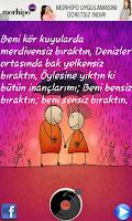 Screenshot of Sevgiliye Sözler