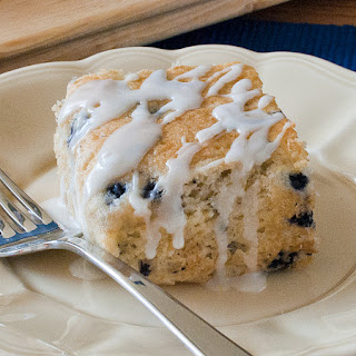 Lemon Blueberry Coffee Cake