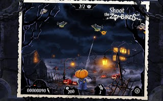 Screenshot of Shoot The Zombirds
