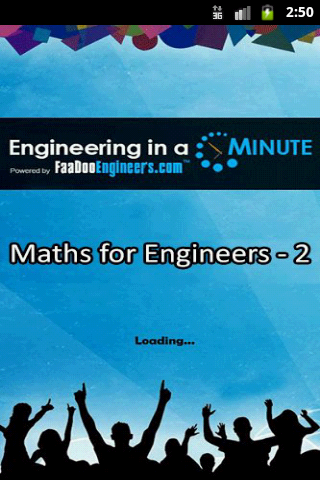 Maths for Engineers - 2 1