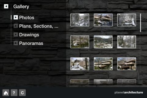F. L. Wright – Fallingwater- screenshot