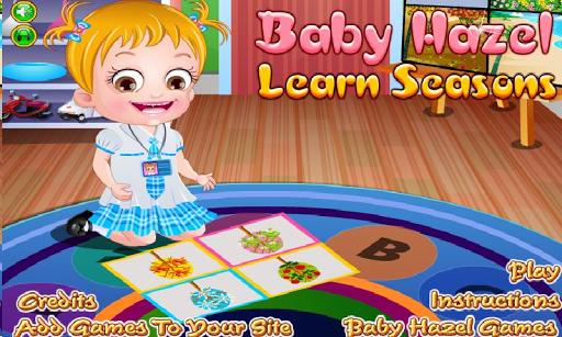 Baby Hazel Seasons Study