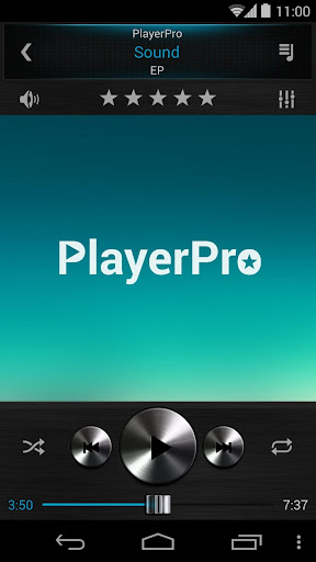PlayerPro Dark Metal 3in1 Skin