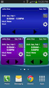 Work Schedule Calendar Free
