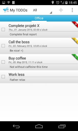 My TODOs - Calendar Sync FREE