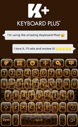 豹纹键盘主题