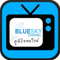Bluesky TV icon