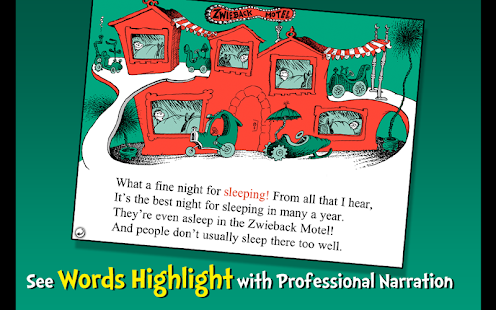 Dr. Seuss's Sleep Book- screenshot thumbnail