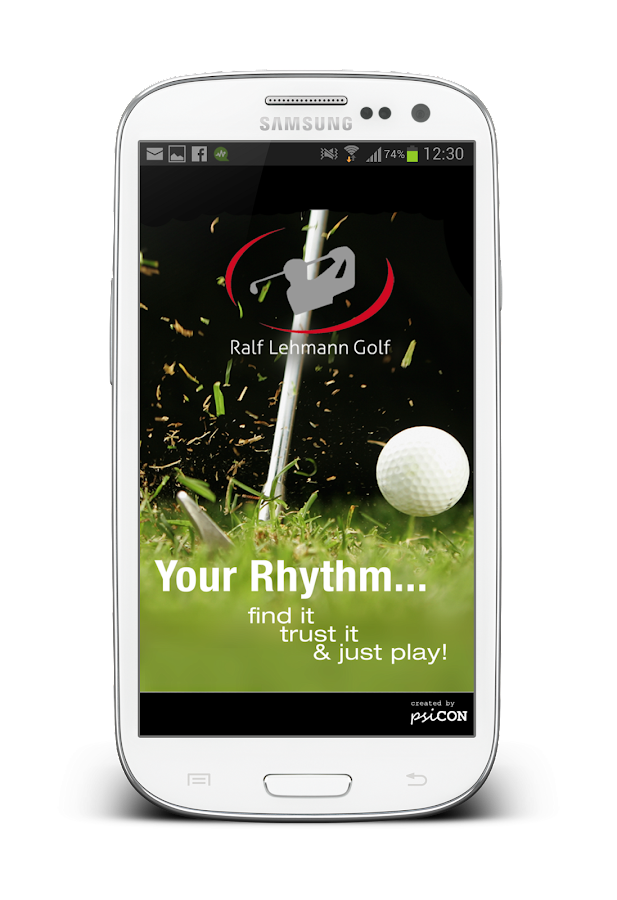 Golf Rhythm Trainer Basic- screenshot