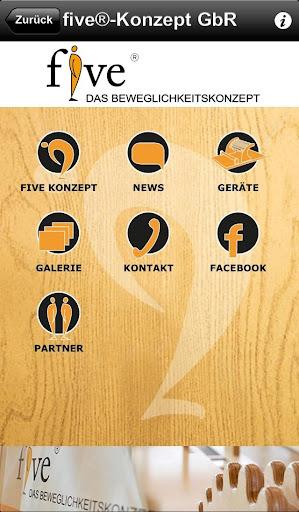 Die five App für unsere Kunden