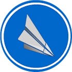 Heathrow flight board icon