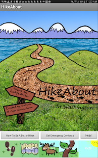 HikeAbout- screenshot thumbnail