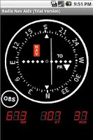 Screenshot of Radio Nav Aids (Trial)