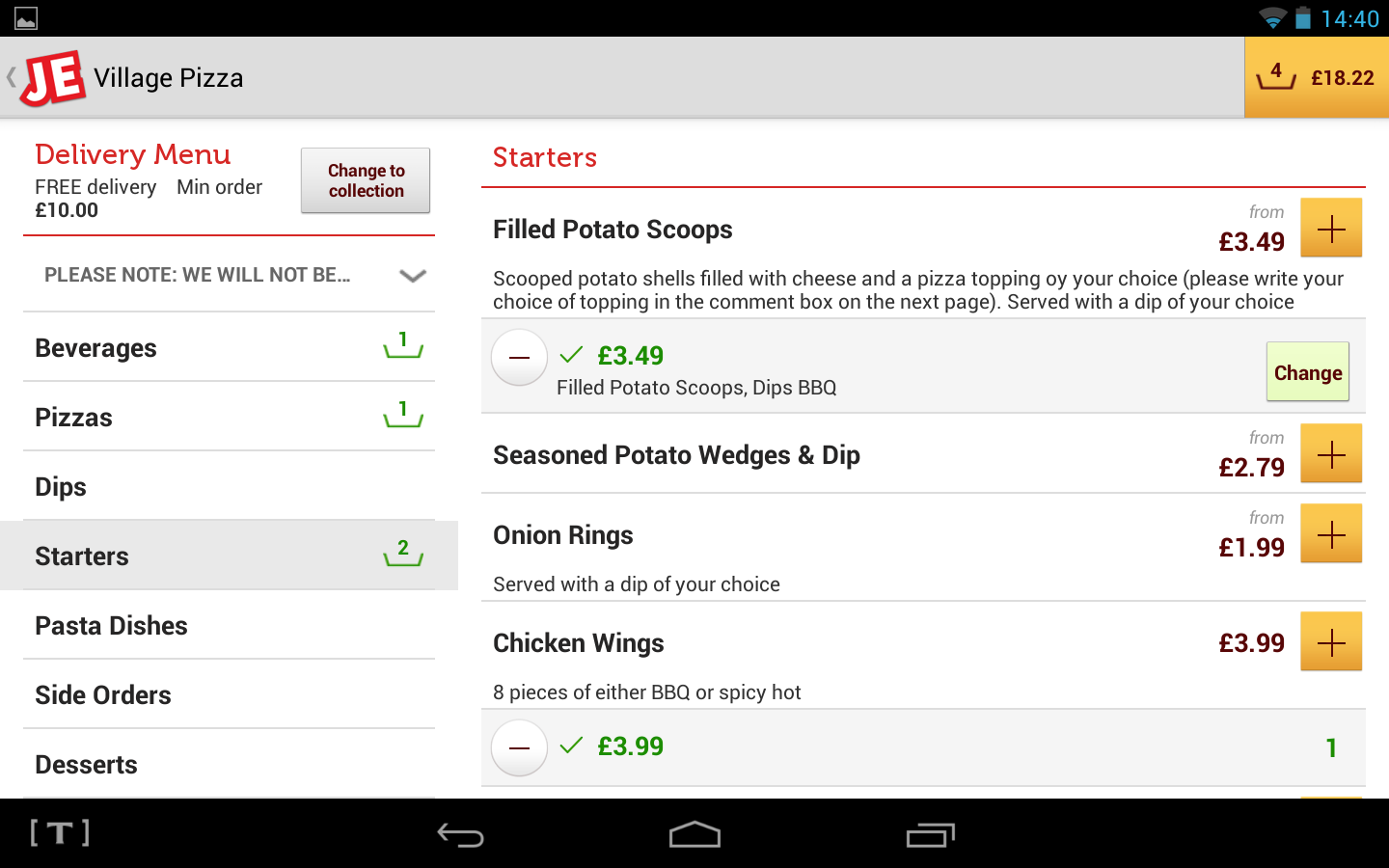 JUST EAT - Takeaway - screenshot