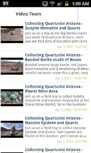 Mineral Collecting Quartzsite- screenshot thumbnail