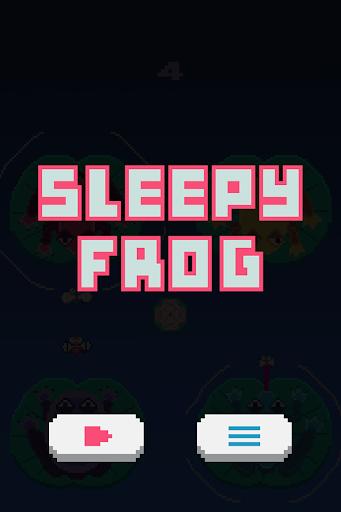 Sleepy Frog