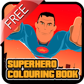 Superhero Coloring Book FREE
