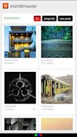 Screenshot of Stumbler: Tumblr Image Search