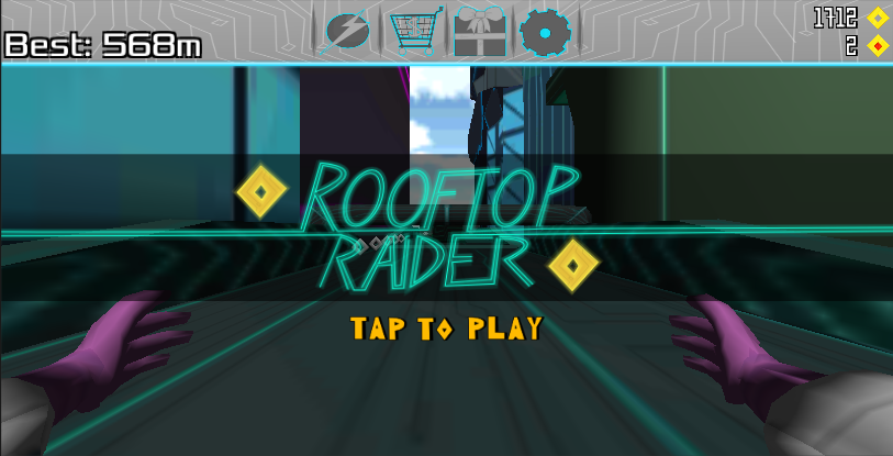 Rooftop Raider - BETA - screenshot