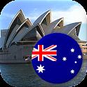 Australian States and Oceania icon
