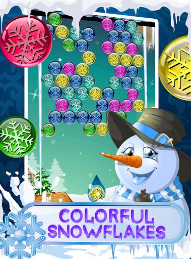 Snowman Story - Bubble Blast