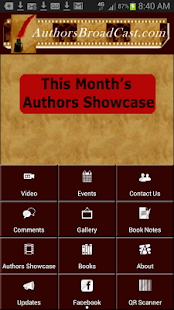 Authors Broadcast- screenshot thumbnail