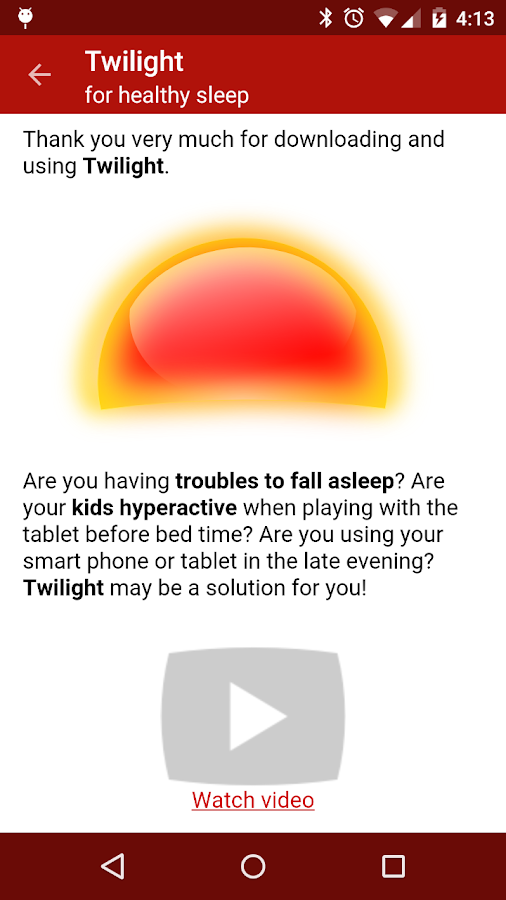 Twilight - screenshot