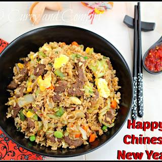 Hoisin Beef Fried Rice