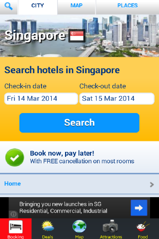 Singapore Hotels + Guide