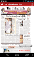 Screenshot of All Newspapers India
