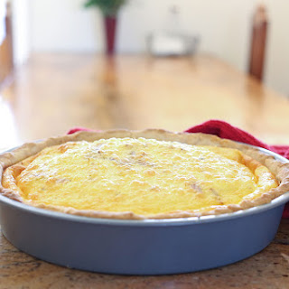 Cheesy Bacon Quiche