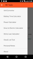 Screenshot of RC Tools