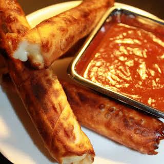 Baked or Fried Mozzarella Sticks.