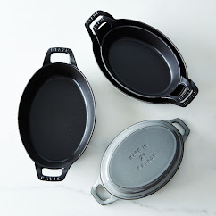 Staub Oval Roasting Dishes