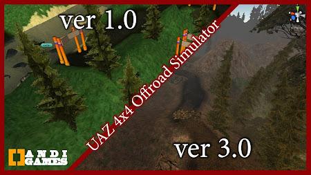 UAZ 4x4 Offroad Simulator 2 HD 3.1 screenshot 664716