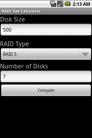 Raid Size Calculator Android Apps On Google Play