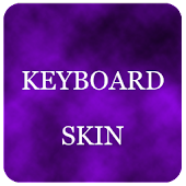 Violet Foggy Keyboard Skin