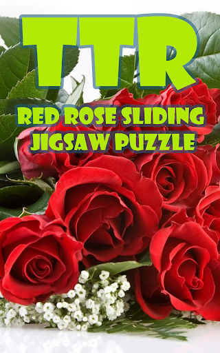 Red Rose Sliding Puzzle