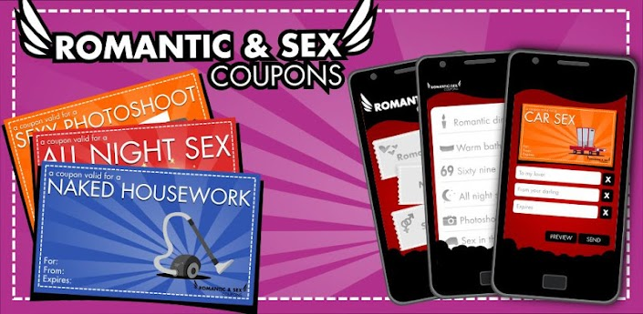 Romantic and sex coupons