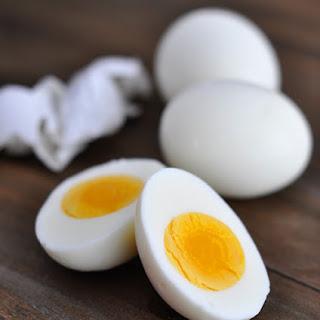 Perfect Hard-Boiled Eggs.