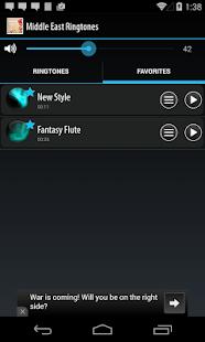 Middle East Ringtones- screenshot thumbnail