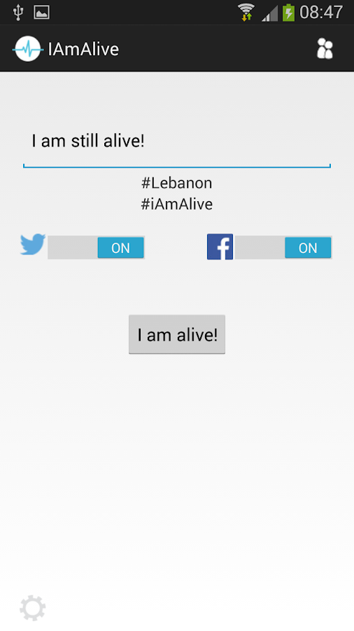 I am Alive- screenshot