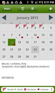 Period Tracker Deluxe - screenshot thumbnail