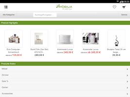 Screenshot of Möbilia.de