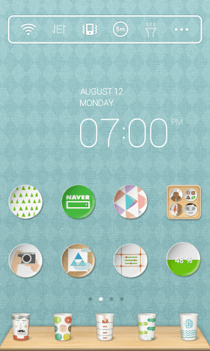 Mint Kitchen dodol Theme