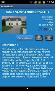 Gîtes de France - Bretagne Sud - screenshot thumbnail