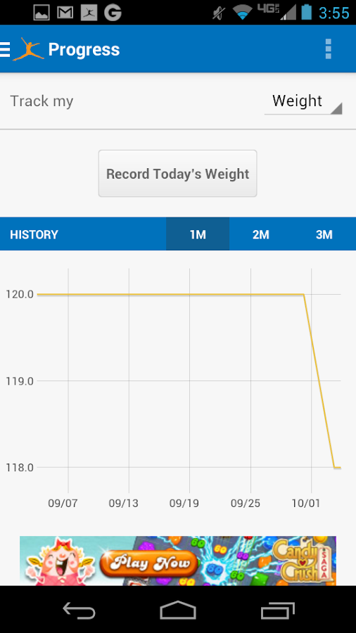 Calorie Counter - MyFitnessPal - screenshot