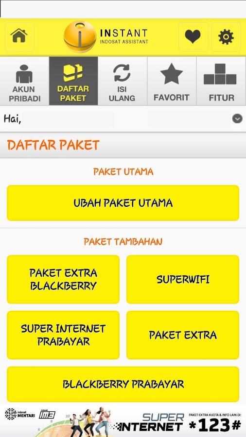 Indosat Assistant - screenshot