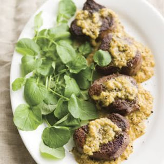 Beef Medallions with Curry Cream Sauce (African Curry)