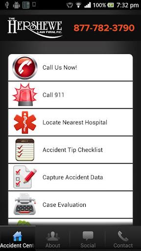 Hershewe Accident App